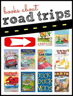 10 Books about Road Trips