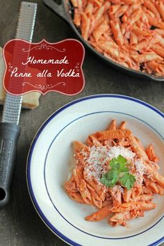 Homemade Penne alla Vodka