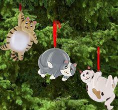 Fat Cat Ornaments