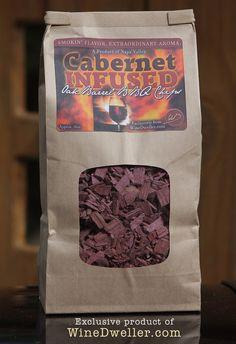 #Wine Infused Oak Barrel BBQ Chips - CABERNET!  Only $10.99!