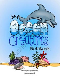 FREE My Ocean Creatures Notebook from Joyful Heart Learning on TeachersNotebook.com -  (116 pages)  - Ocean Life Coloring Sheets w/Scripture, Labeling Anatomy of Ocean Creatures, Experiment Recording Sheets, Vocabulary Match Ups & Word Searches, Comparing/Contrasting Activities, Spaces to Write Facts