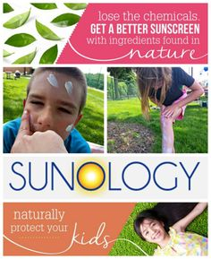 Safe Sun Protection for the Whole Family with @Sunology Natural Suncreen #sponsored
