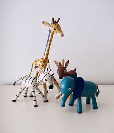 Lovely Wooden Animals