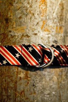 American Flag Battle Flag Bow Tie - Old Glory Prep Belt - Buffalo Jackson Trading Co