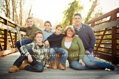 Large Family Pose by april SMILES photography