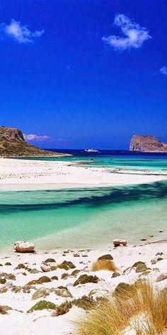 balo bay, greece crete balos, beach, place