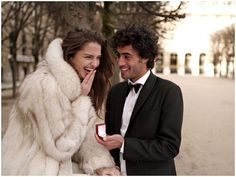 There are proposal planners in Paris who can help you plan the big day