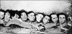 Unit 731. Victims were subjected to vivisection without anesthesia, amputations, and were used to test biological weapons, among other experiments.