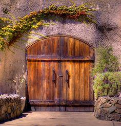 Wine Cave Doors  Doors