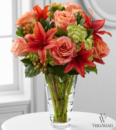 The FTD® Dawning Delight™ Bouquet by Vera Wang- Deluxe