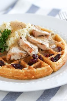 The Thanksgiving Waffle | foodnfocus.com