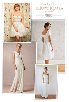Our Top 28 Favorite Wedding Dresses for under $1000