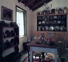 simpli primit, dine room, primit live, coloni decor, prim pewter