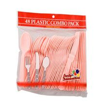 Bulk Pink Plastic Utensils, 48-ct. Bags at DollarTree.com