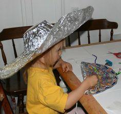Aluminium Foil Dress Up