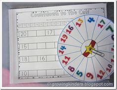 Identifying numbers 1-20 classroom idea, classroom center, img2886, number center, number order, center idea, kindergarten, educ, count backward