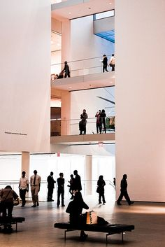 Museum of Modern Art | Inner Lobby