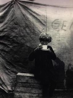 Circus Boyhood, 1932 by Bill Brandt