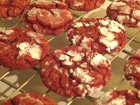 Harvest Moon by Hand: Red Velvet and Lace Cookies