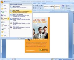 Save a Marketing Document as a Word Template