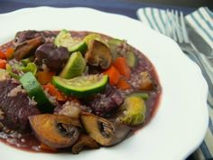 A healthy spin on Coq au Vin for special occasions #OLW