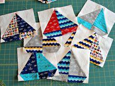 sailboat quilt block