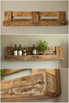 Awesome Pallet Shelf