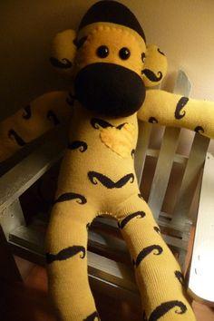 moustache monkey