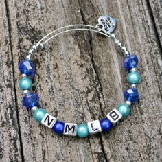 Sometimes childhood traditions fall by the wayside. Get nostalgic with the Blue Crystal Friendship Bracelet. This DIY beaded bracelet is a more sophisticated take on the handmade accessories girls swap at summer camp. Using a combination of crystal and alphabet beads, you can personalize each bracelet with initials or phrases.