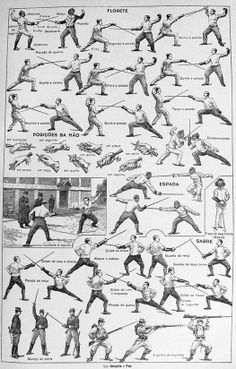 Fencing Fever.... Always have wanted to draw fencing match...