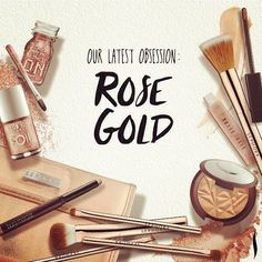 Our latest obsession at #Sephora: Rose Gold