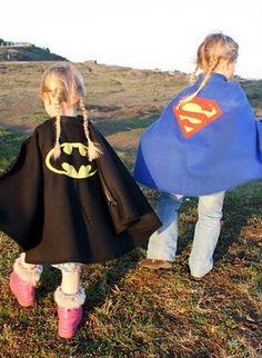 childrens superhero cape!