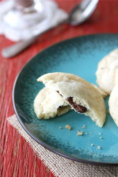 Nutella & Sea Salt Stuffed Sugar Cookie Recipe