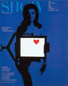 cMag131 - Show Magazine cover by Henry Wolf / February 1963
