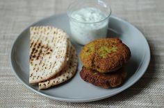 World's Easiest Falafel and Tzatziki -- recipe/photo:  food52
