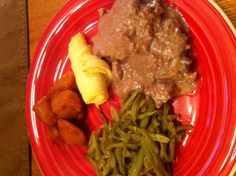 Crockpot Cube Steak and Gravy » The Post-It Place