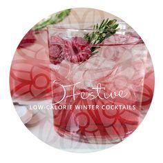 5 Festive Low-Calorie Winter Cocktails