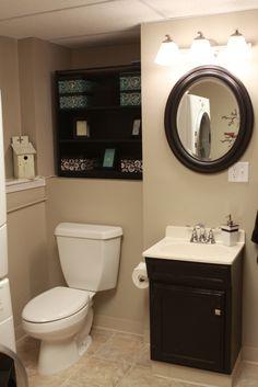 Bathroom remodel...more pics on my blog