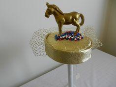 Raymond Hudd pillbox hat with donkey