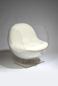 Armlesschair by Boris Tabakoff