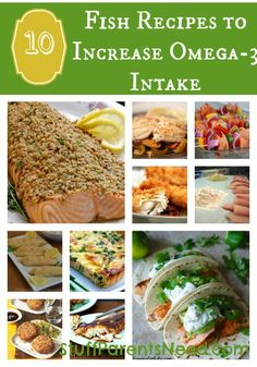 New year, new you! Time to start increasing your Omega-3 intake. These recipes will help you out and they taste AWESOME!!!