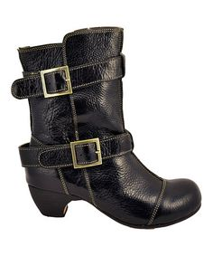 Take a look at this Black Toni Boot by Gee' WaWa Footwear on #zulily today!