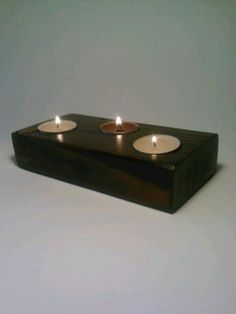 Tealight Candle Holder Wedding Centerpice by DeerwoodCreekGifts, $20.00