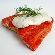 Seared Salmon with Dill Dijon Sauce