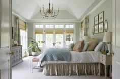 Color scheme to copy for the family room off kitchen.  Farm Fresh - traditional - bedroom - dc metro - 2 Ivy Lane