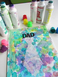 Father's Day art