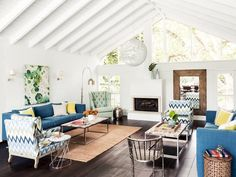 This gorgeous FLA home is so light and airy. #hgtvmagazine http://www.hgtv.com/decorating-basics/a-show-stopping-house-tour/pictures/page-2.html?soc=pinterest