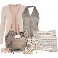 short, cloth, colors, summer outfits, color combinations, polyvore, heels, fashion worship, fashion designers