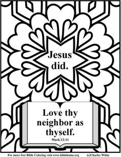 Bible Verse Coloring Pages | Bible (Christian) Coloring pages for sunday school, free vbs crafts ...
