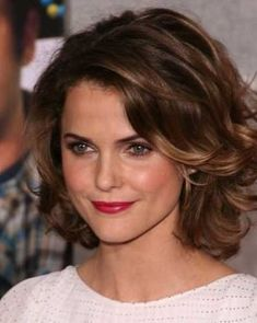 Curly Brown Hairstyles for Short Hair